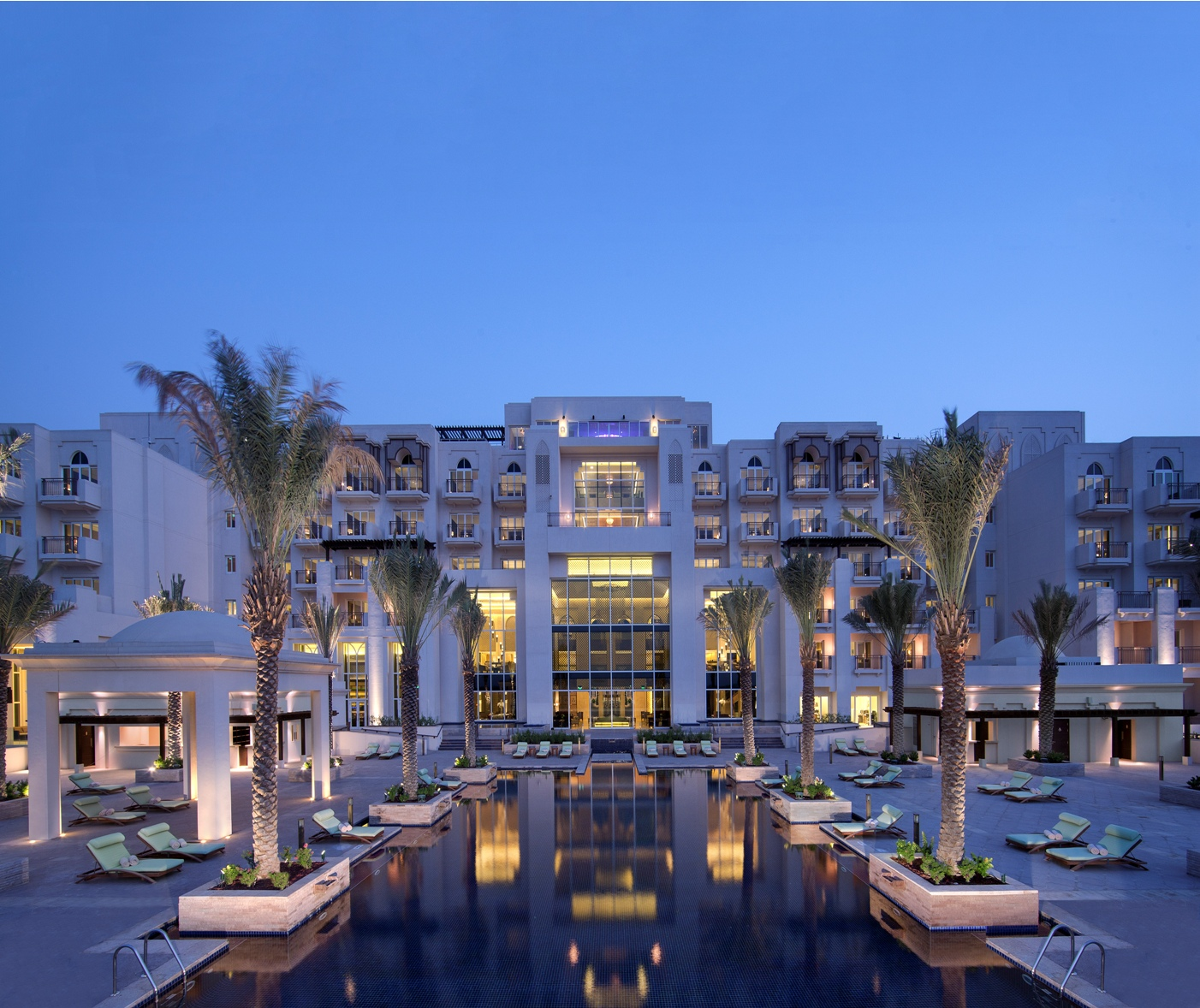 The 7 Most Expensive Hotel Rooms in UAE's The Pool Deck Eastern Mangroves Hotel Spa by Anantara