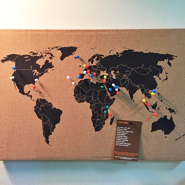 Buy your cork board world map from packntravel one of my favourite maps is this cork board world map that i bought from packntravel account in instagram sciox Image collections